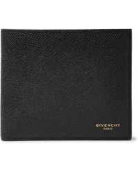 Givenchy - Eros Pebble-grain Leather Billfold Wallet - Lyst