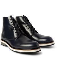 Want Les Essentiels De La Vie - Montoro High Matte-leather Derby Boots - Lyst