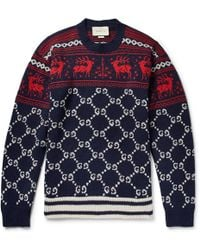 Gucci - Reindeer Christmas Jumper By - Lyst