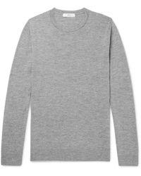 MR P. - Slim-fit Merino Wool Sweater - Lyst
