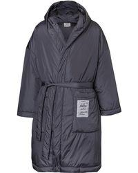 Vetements - Oversized Appliquéd Padded Shell Overcoat - Lyst