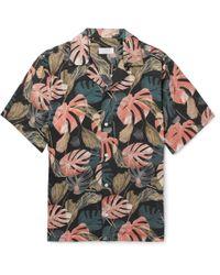 Saturdays NYC - Canty Camp-collar Printed Shirt Xl - Lyst