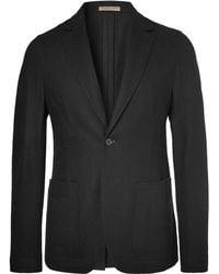 Bottega Veneta - Black Slim-fit Unstructured Cashmere Blazer - Lyst