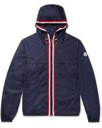 Moncler - Anton Webbing-trimmed Nylon Hooded Jacket - Lyst