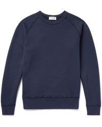Velva Sheen - Freedom Loopback Cotton-jersey Sweatshirt - Lyst