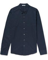 James Perse - Cotton-poplin Shirt - Lyst