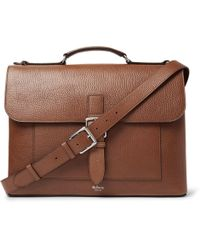 Mulberry - Chiltern Pebble-grain Leather Briefcase - Lyst