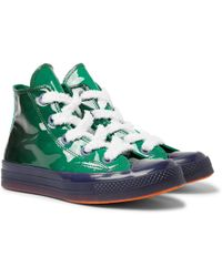 eef46917997 Converse - Jw Anderson 1970s Chuck Taylor All Star Dégradé Patent-leather  High-top