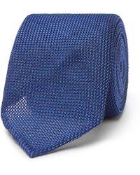 Thom Sweeney - 8cm Textured-silk Tie - Lyst