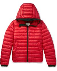 Moncler - Morvan Slim-fit Quilted Shell Hooded Down Jacket - Lyst