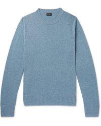 J.Crew - Wool-blend Sweater - Lyst