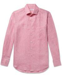 Loro Piana - Slub Linen Shirt - Lyst