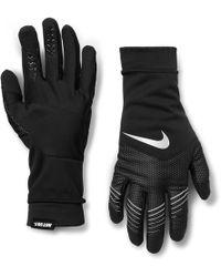 Nike - Storm-fit Hybrid Gloves - Lyst