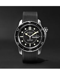 Bremont - S500 Supermarine Automatic 43mm Stainless Steel And Rubber Watch - Lyst