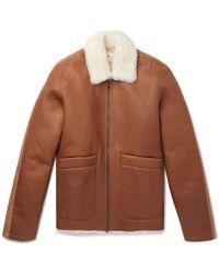 Folk - Shearling Jacket - Lyst