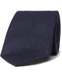 Brunello Cucinelli - 6.5cm Wool, Silk And Cashmere-blend Tie - Lyst