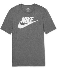 Nike - Printed Jersey T-shirt - Lyst