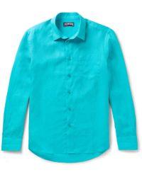 Vilebrequin - Caroubis Linen Shirt - Lyst