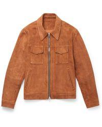 MR P. - Suede Western Jacket - Lyst