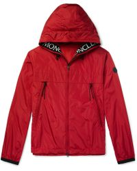 Moncler - Massereau Logo-embroidered Hooded Shell Jacket - Lyst