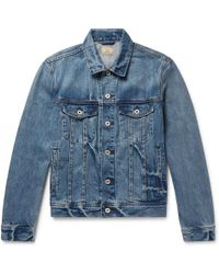 J.Crew - Indigo-dyed Denim Jacket - Lyst
