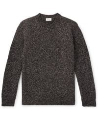 Brioni - Mélange Wool Sweater - Lyst