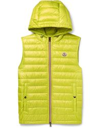 Moncler - Gien Slim-fit Quilted Shell Hooded Down Gilet - Lyst