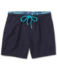 Vilebrequin - Moloka Mid-length Swim Shorts - Lyst