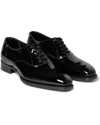 Kingsman - George Cleverley Patent-leather Oxford Shoes - Lyst