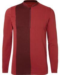 Falke - Stretch-jersey Half-zip Running Top - Lyst