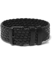 Tom Ford - Woven Leather Watch Strap - Lyst