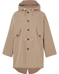 The Workers Club - Hooded Cotton Packable Parka - Lyst