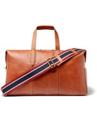 J.Crew - Leather Holdall - Lyst
