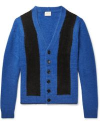 Simon Miller - Striped Cashmere Cardigan - Lyst