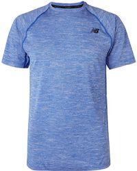 New Balance - Tenacity Mélange T-shirt - Lyst