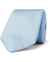 BOSS - 7.5cm Pin-dot Silk Tie - Lyst
