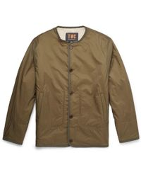 The Workers Club - Reversible Faux Shearling And Shell Jacket - Lyst