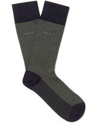 BOSS - Polka-dot Mercerised Stretch-cotton Socks - Lyst