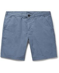 PS by Paul Smith - Slim-fit Stretch Cotton-twill Shorts - Lyst