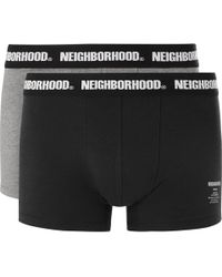 Neighborhood - Two-pack Stretch-cotton Jersey Boxer Briefs - Lyst