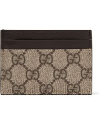 a0aeadc9e6a Gucci Beige Gg Supreme Wolf Wallet in Natural for Men - Lyst