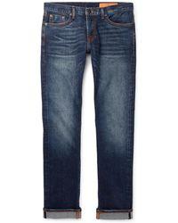 Jean Shop - Jim Skinny-fit Selvedge Stretch-denim Jeans - Lyst