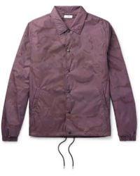 Cmmn Swdn - Igor Printed Shell Jacket - Lyst