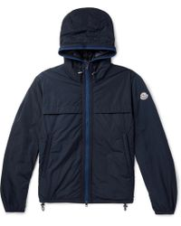 Moncler - Webbing-trimmed Shell Hooded Down Jacket - Lyst