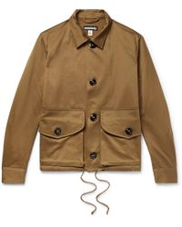Monitaly - Military Service Type A Cotton Jacket - Lyst