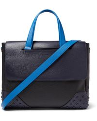 Tod's - Gommino Full-grain Leather Briefcase - Lyst