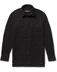 Freemans Sporting Club - Linen Shirt - Lyst