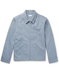 Fanmail - Cotton-twill Blouson Jacket - Lyst