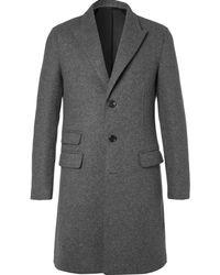 Neil Barrett - Slim-fit Felted Wool-blend Coat - Lyst