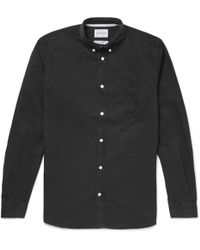 Norse Projects - Anton Button-down Collar Denim Shirt - Lyst